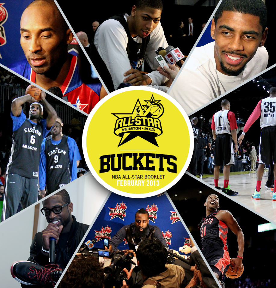Buckets NBA All Star Booklet 2013