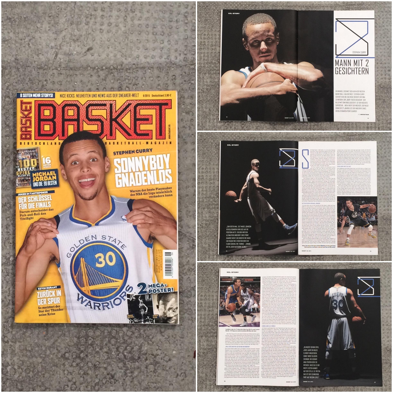 BASKET 06/15: Stephen Curry – Cover Story | christiantrojan.com